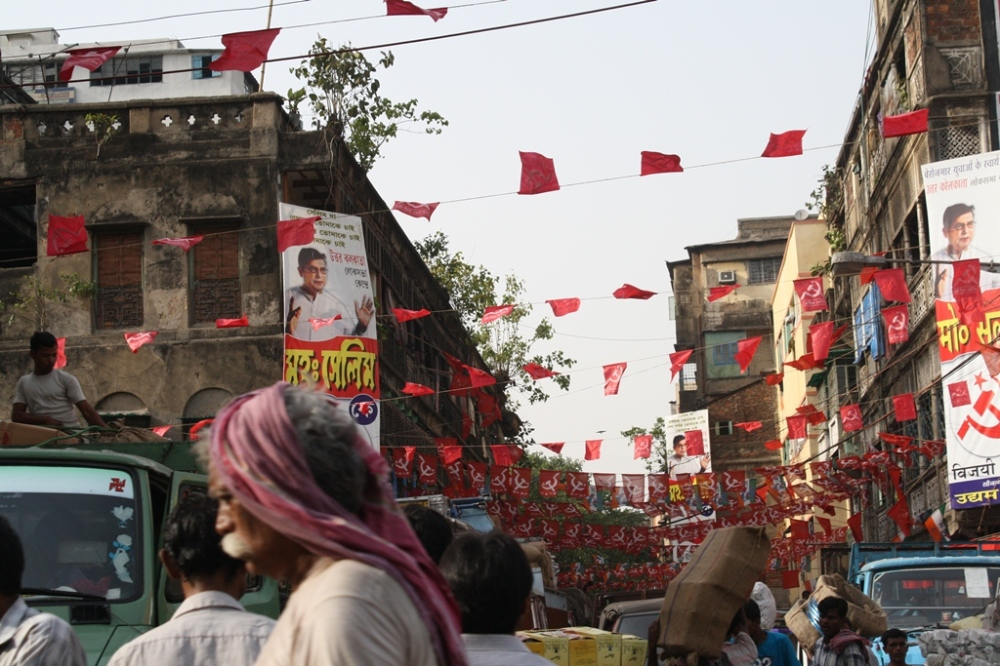 Kolkata_CommunistFlags