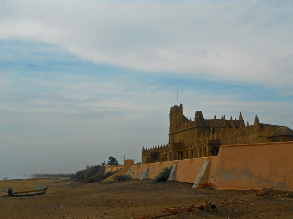 Fort Dansborg ovelooking the sea, Tranquebar