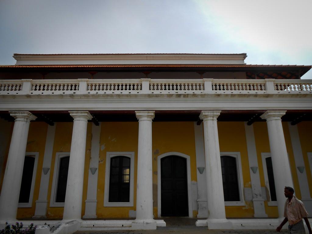 An old Dutch house, Tranquebar