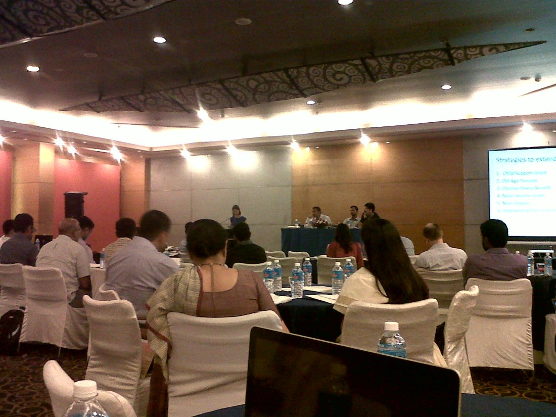 APU Conference 2013. Right to Welfare: Education, Food and Work, Bangalore