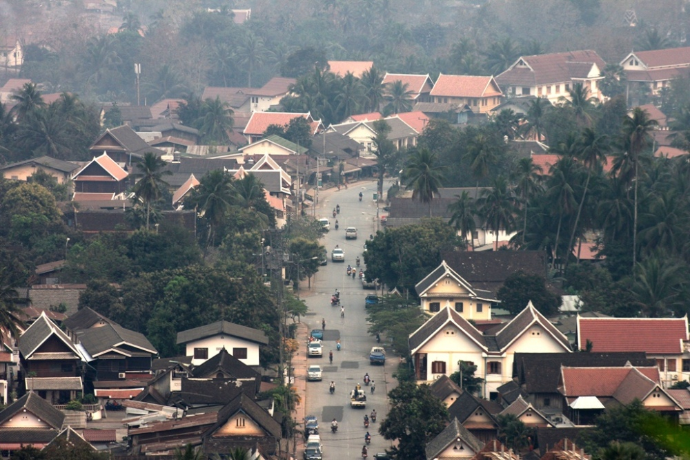 Luang Prabang: A view from Mt. Phousi