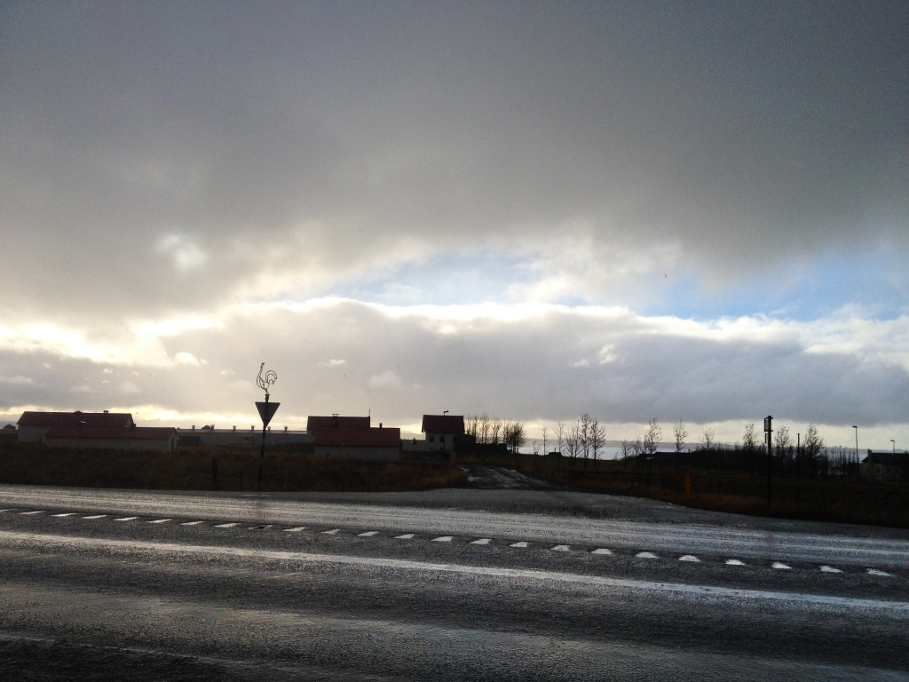 On the eastern highway to Vik
